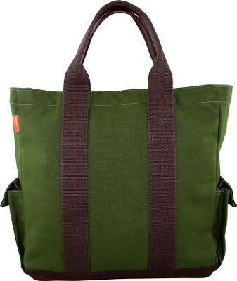 CB Station Travel Tote Olive - CB Station Fabric Handbags 10454059