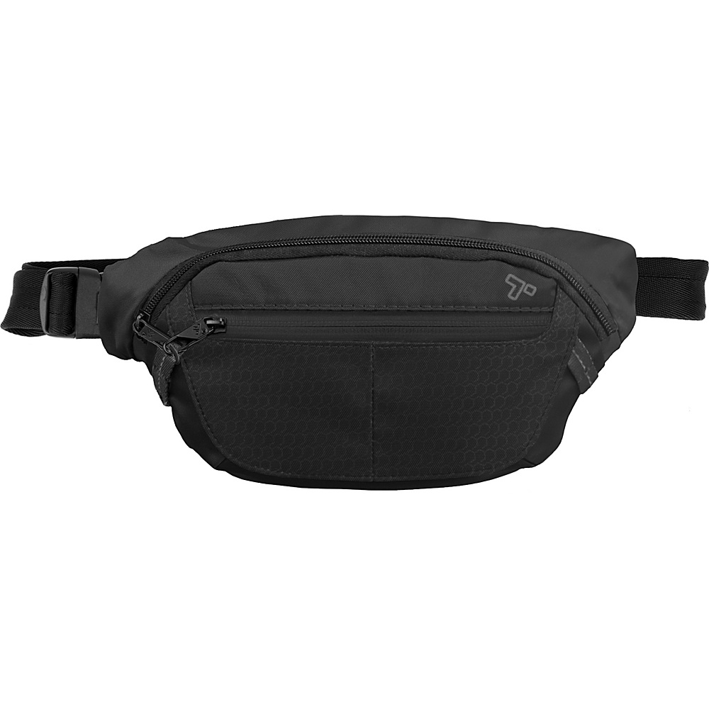 Travelon Anti-Theft Active Waist Pack Black - Travelon Waist Packs - Backpacks, Waist Packs