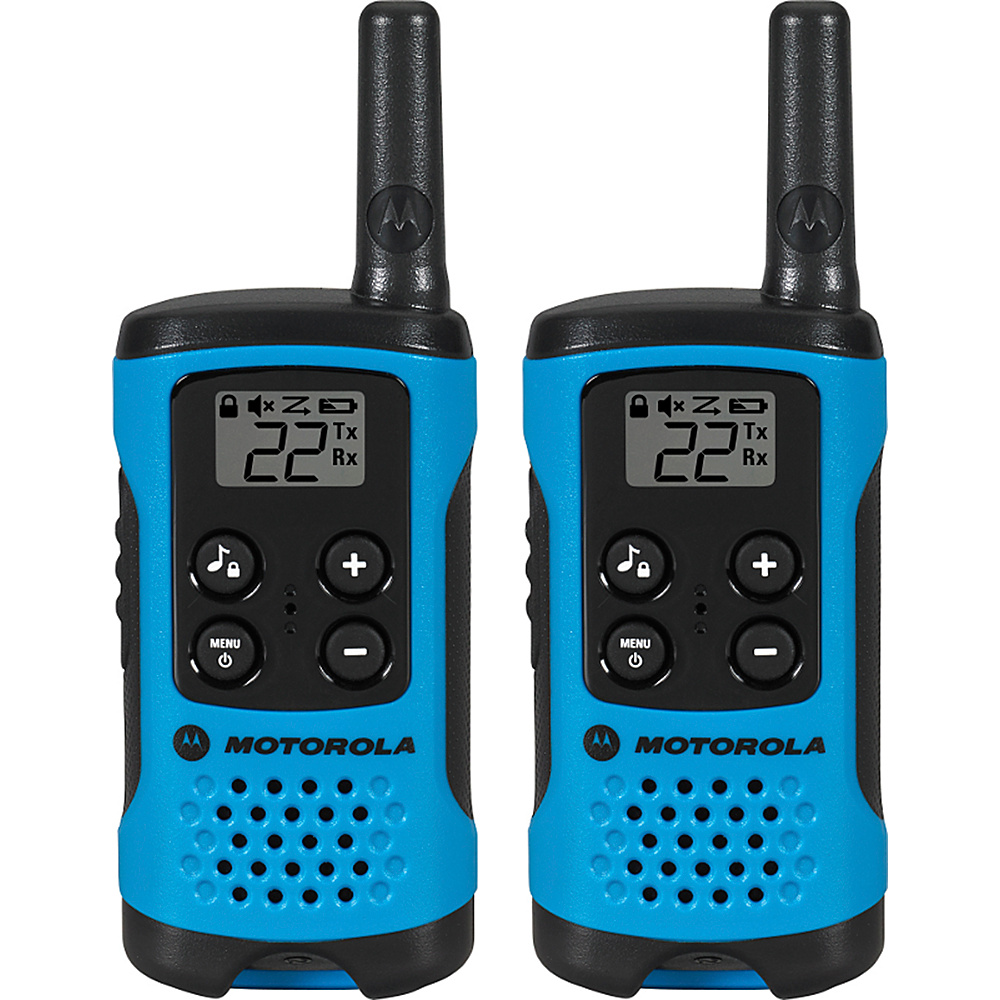 Motorola Solutions Talkabout T100 Radio - 2 Pack Blue -