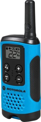 Motorola Solutions Talkabout T100 Radio - 2 Pack Blue - Motorola Solutions Electronic Accessories