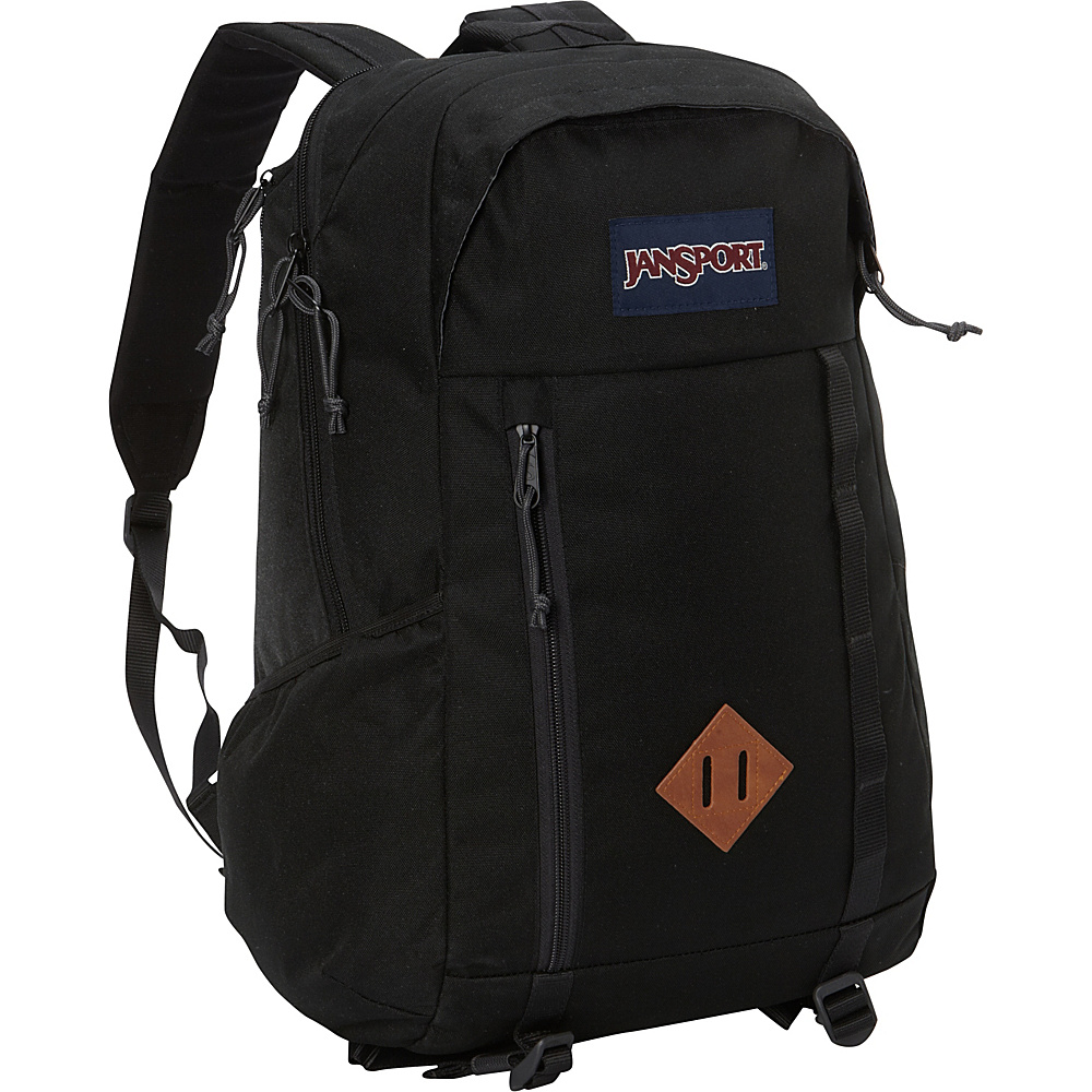 JanSport Foxhole Laptop Backpack Black - JanSport Business & Laptop Backpacks