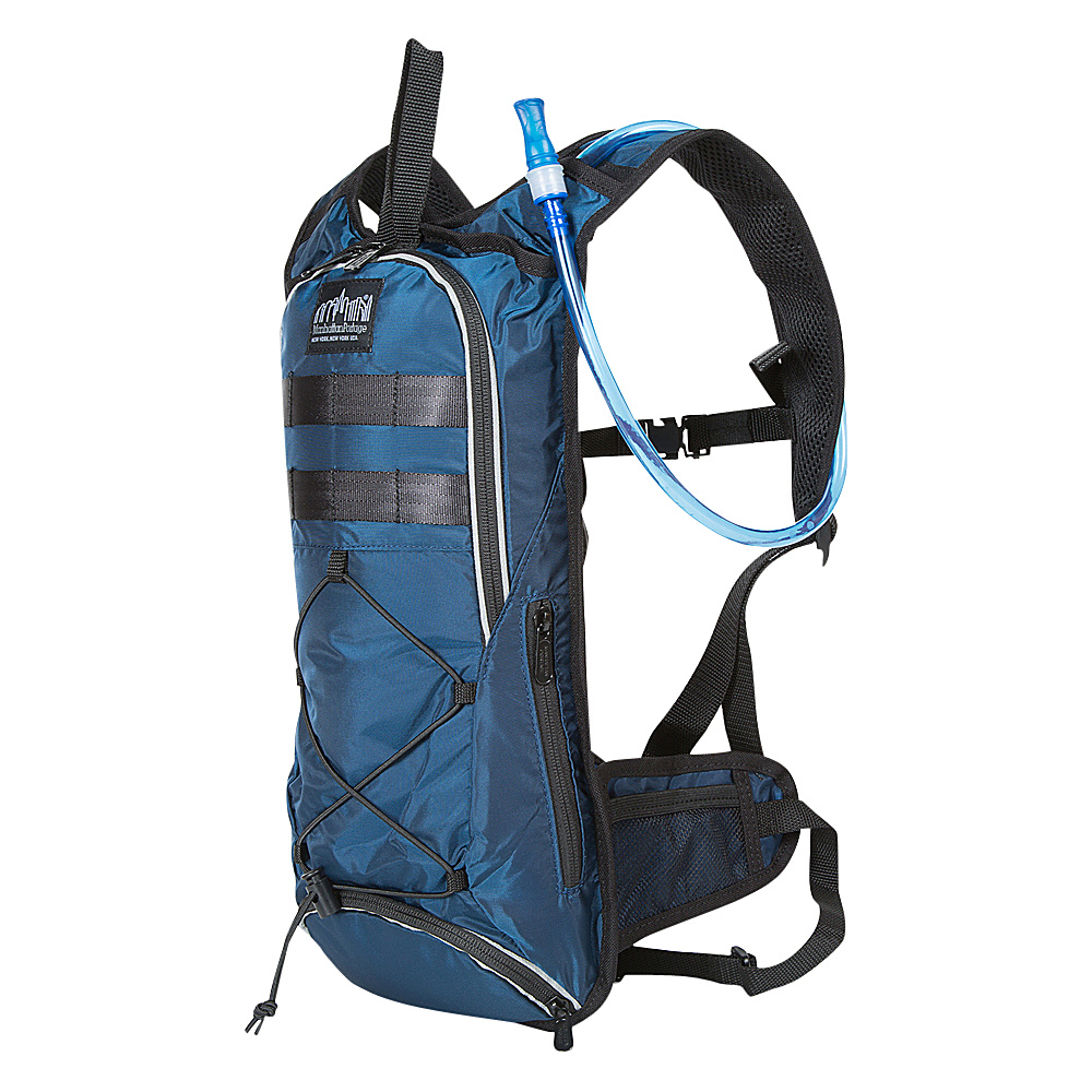 Manhattan Portage Central Park Reservoir Backpack Navy - Manhattan Portage Hydration Packs and Bottles - Outdoor, Hydration Packs and Bottles