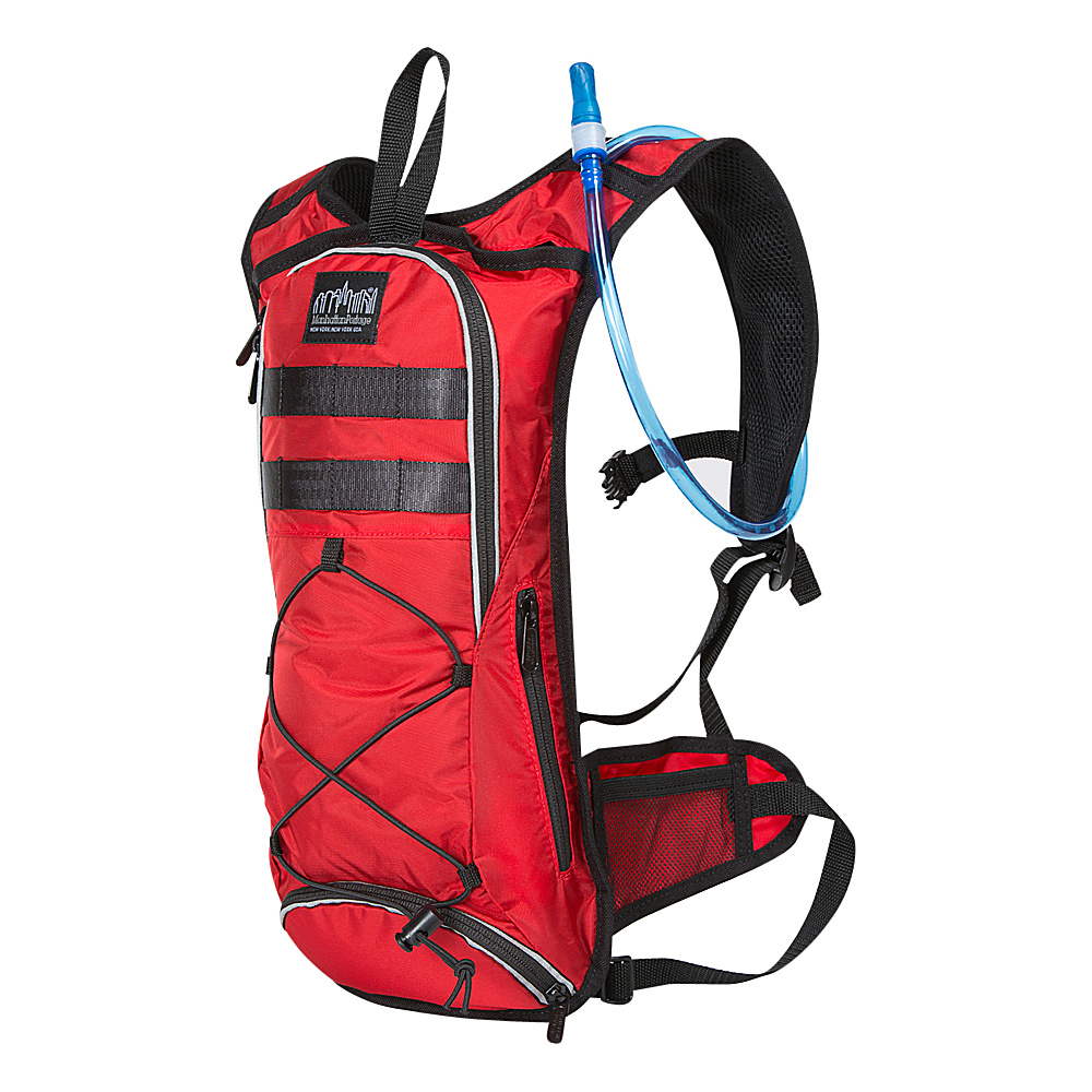 Manhattan Portage Central Park Reservoir Backpack Red - Manhattan Portage Hydration Packs and Bottles - Outdoor, Hydration Packs and Bottles