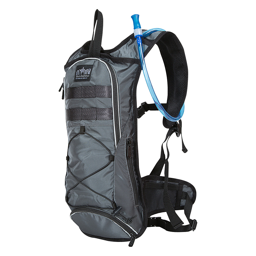 Manhattan Portage Central Park Reservoir Backpack Gray - Manhattan Portage Hydration Packs and Bottles - Outdoor, Hydration Packs and Bottles