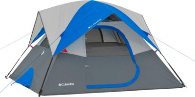 Columbia Sportswear Columbia Sportswear Ashland 4 Person Tent Grey/Blue - Columbia Sportswear Outdoor Accessories