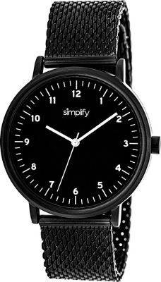 Simplify 3200 Unisex Watch Black - Simplify Watches