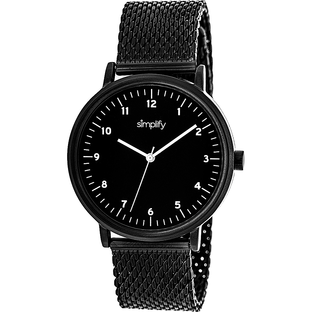Simplify 3200 Unisex Watch Black Simplify Watches