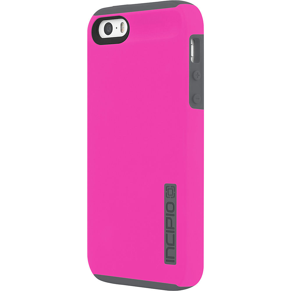 Incipio DualPro for iPhone 5/5s/SE Highlighter Pink/Charcoal - Incipio Electronic Cases - Technology, Electronic Cases