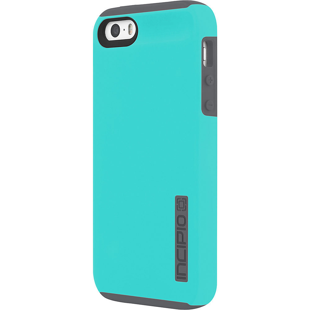 Incipio DualPro for iPhone 5/5s/SE Turquoise/Charcoal - Incipio Electronic Cases - Technology, Electronic Cases