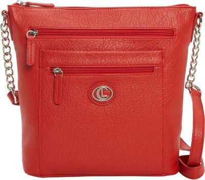 Aurielle-Carryland St. Petersburg N/S Crossbody Red - Aurielle-Carryland Manmade Handbags
