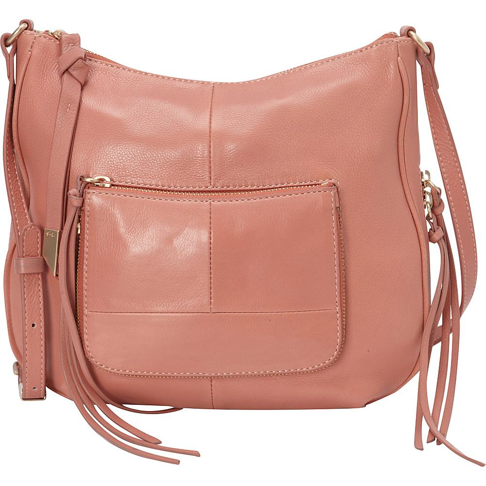 Foley Corinna Amber Large Crossbody Toasted Peach Foley Corinna Designer Handbags