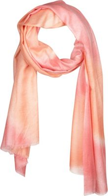 Kinross Cashmere Tie Dye Print Scarf Quince - Kinross Cashmere Hats/Gloves/Scarves