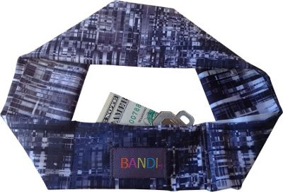 BANDI Wear Pocketed Headband Black Hatch - BANDI Wear Other Fashion Accessories