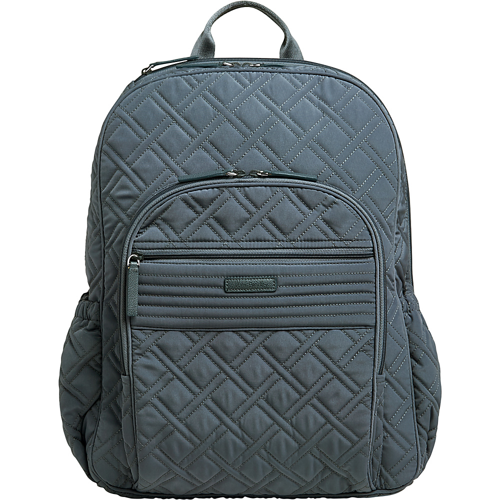 Vera Bradley Campus Tech Backpack - Solids Charcoal - Vera Bradley Everyday Backpacks - Backpacks, Everyday Backpacks
