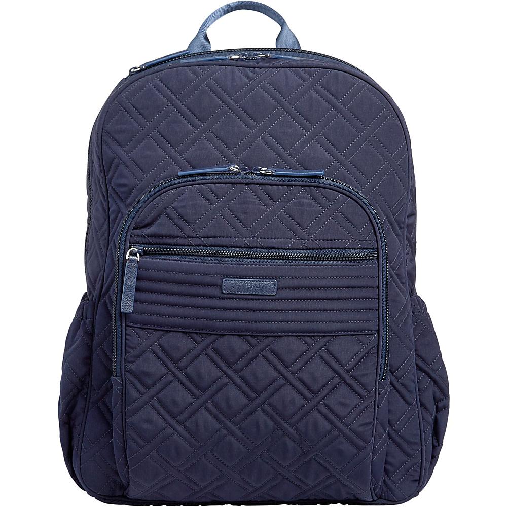 Vera Bradley Campus Tech Backpack - Solids Classic Navy - Vera Bradley Everyday Backpacks - Backpacks, Everyday Backpacks
