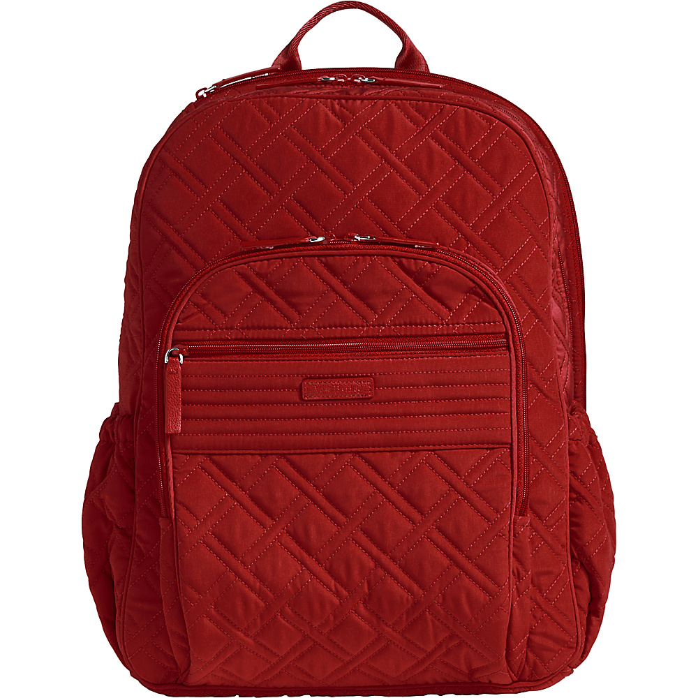Vera Bradley Campus Tech Backpack - Solids Cardinal Red - Vera Bradley Everyday Backpacks - Backpacks, Everyday Backpacks