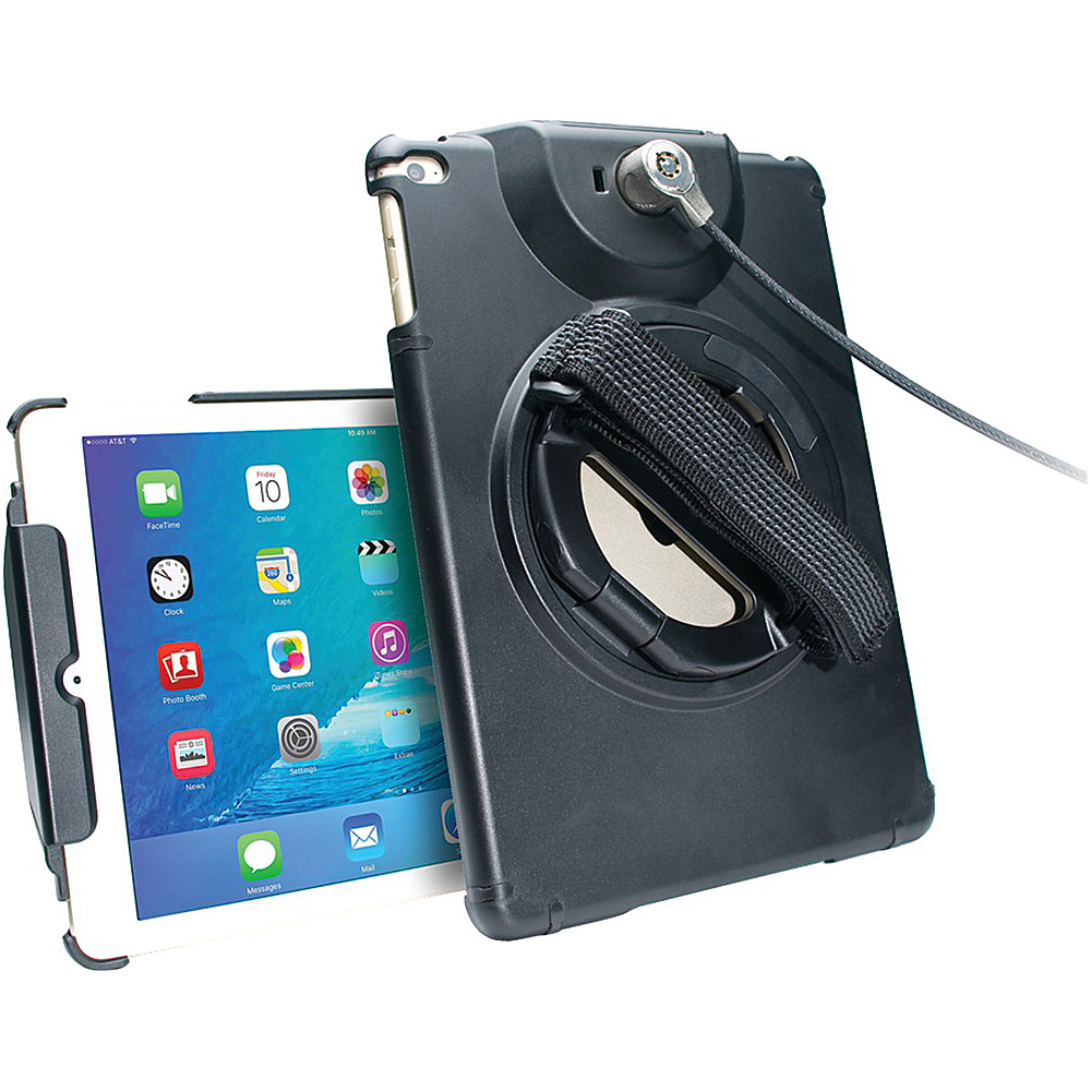 Cta Digital Anti Theft Case Ipad Air Black Cta Digital Electronic Cases
