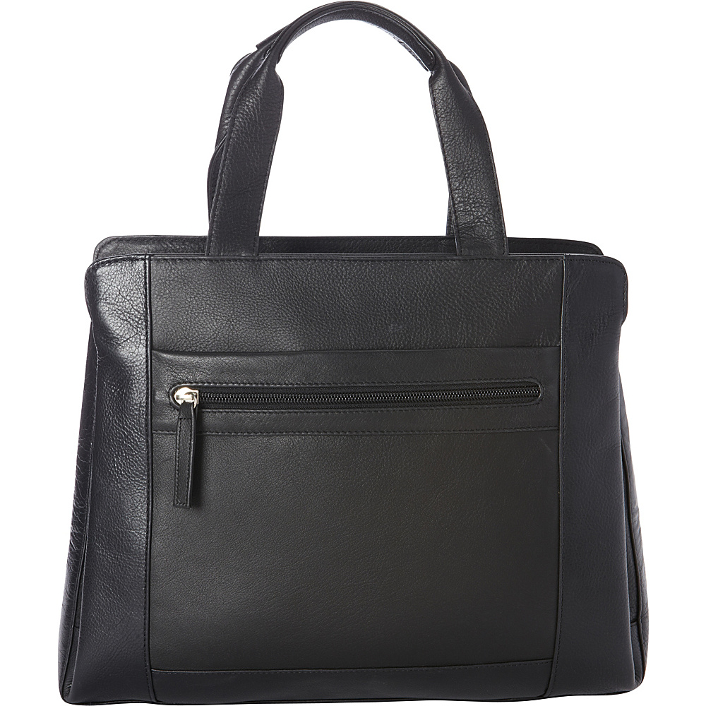 Derek Alexander Large NS Tote, Tablet Friendly Black/Black - Derek Alexander Leather Handbags - Handbags, Leather Handbags