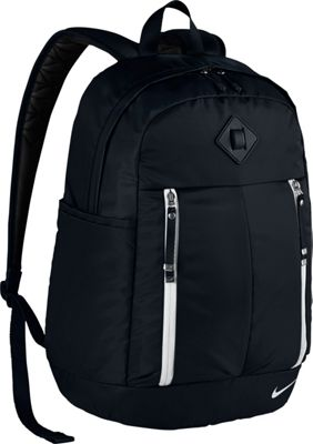 Nike Auralux Backpack - Solid Black/Black/White - Nike Everyday Backpacks