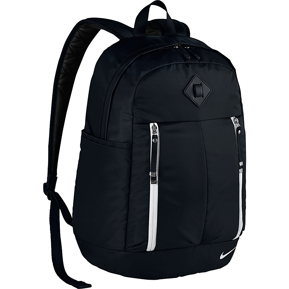 Nike Auralux Backpack Solid Black Black White Nike Everyday Backpacks