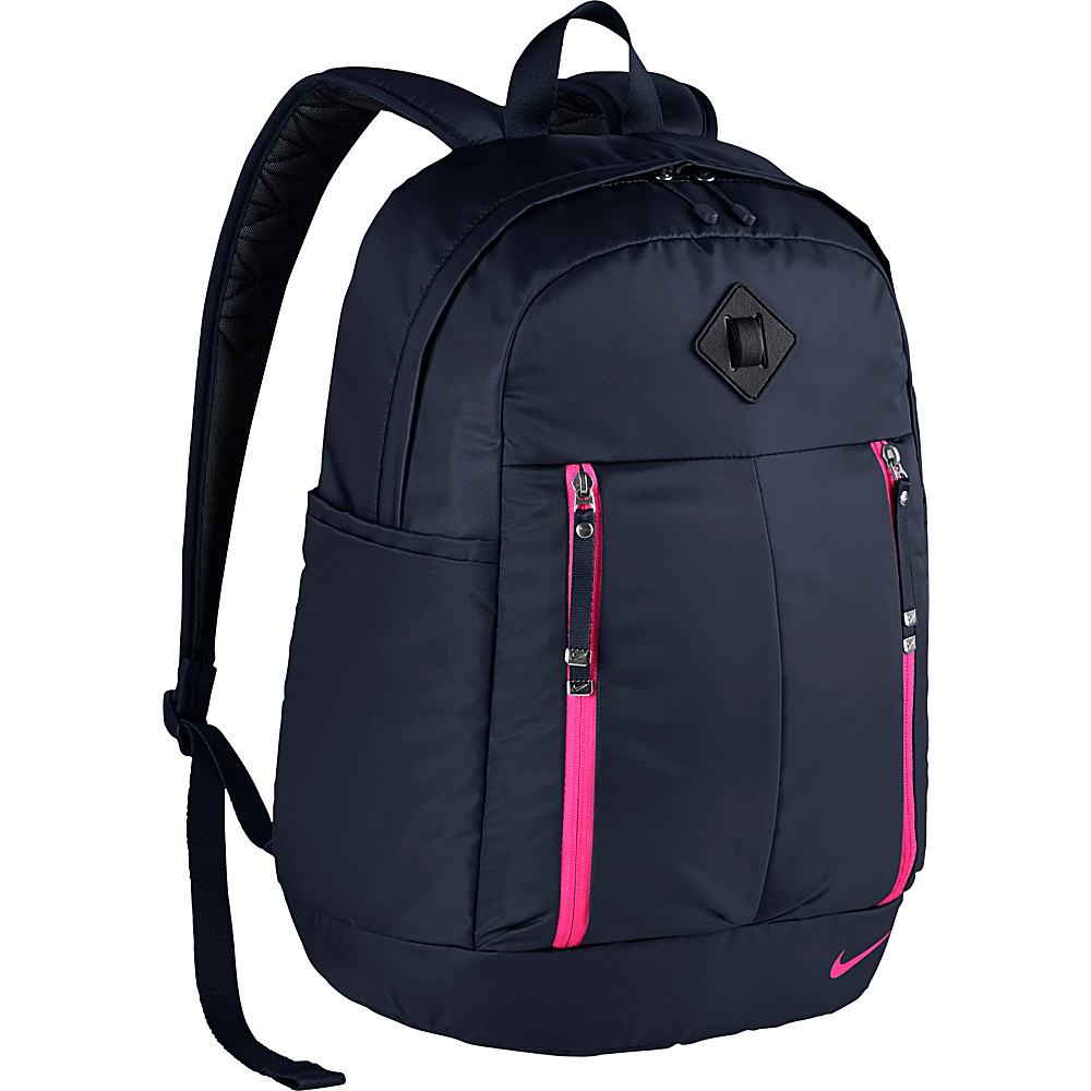 Nike Auralux Backpack Solid Obsidian Obsidian Hyper Pink Nike Everyday Backpacks
