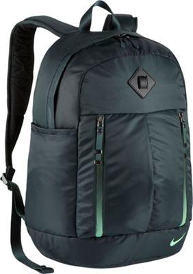 Nike Auralux Backpack - Solid Seaweed/Seaweed/Green Glow - Nike Everyday Backpacks