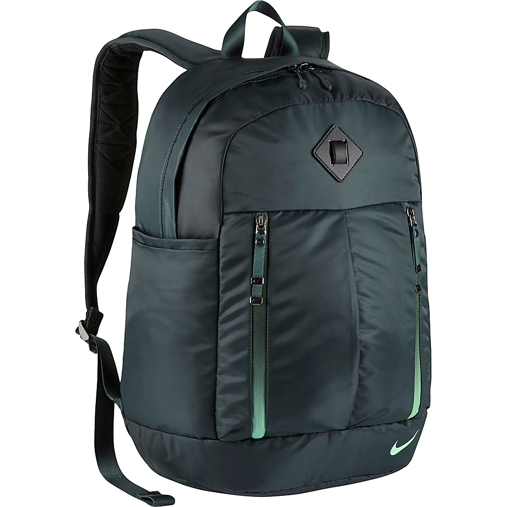 Nike Auralux Backpack Solid Seaweed Seaweed Green Glow Nike Everyday Backpacks