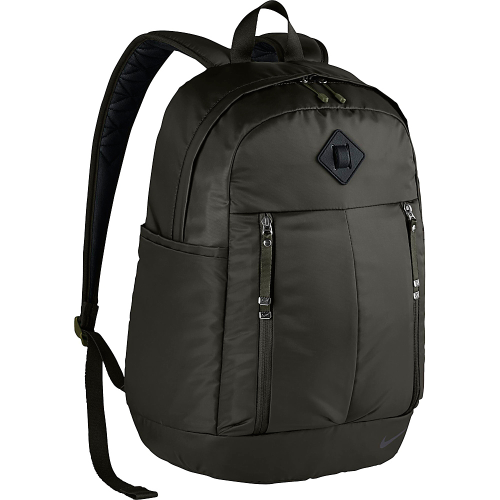 Nike Auralux Backpack Solid Sequoia Black Black Nike Everyday Backpacks