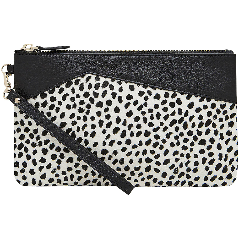 HButler Mighty Purse Cell Charging Wristlet Cheetah HButler Leather Handbags
