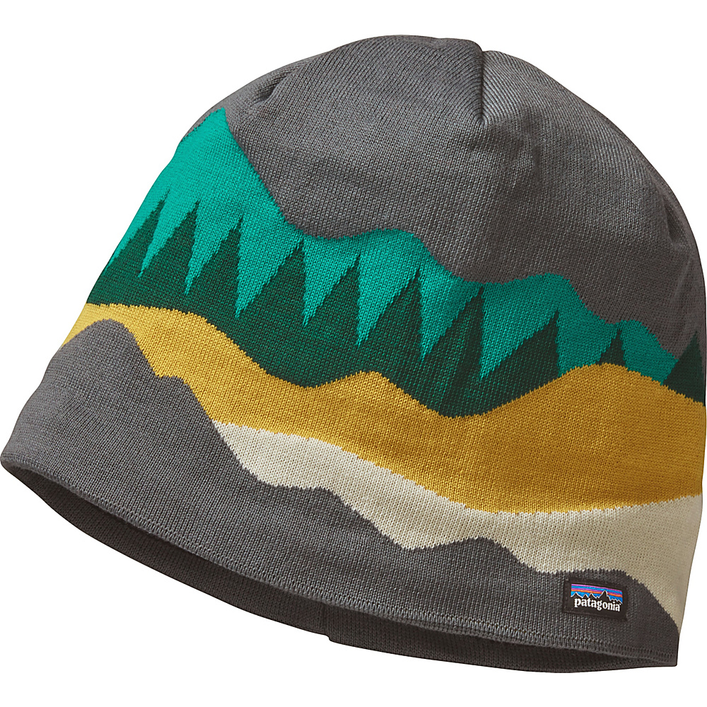 Patagonia Lined Beanie One Size - Hi Country: Forge Grey - Patagonia Hats/Gloves/Scarves - Fashion Accessories, Hats/Gloves/Scarves