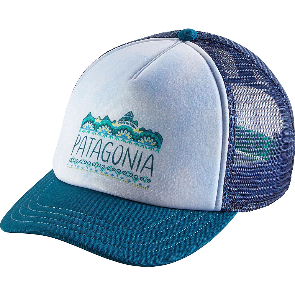 Patagonia Ws Femme Fitz Roy Interstate Hat One Size - Big Sur Blue - Patagonia Hats/Gloves/Scarves - Fashion Accessories, Hats/Gloves/Scarves