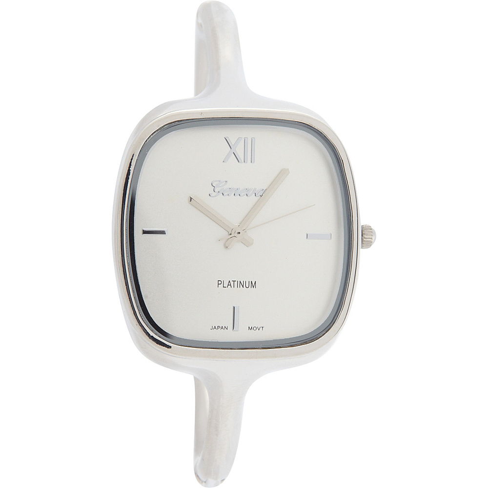 Samoe Bangle Watch Silver Square Face Samoe Watches