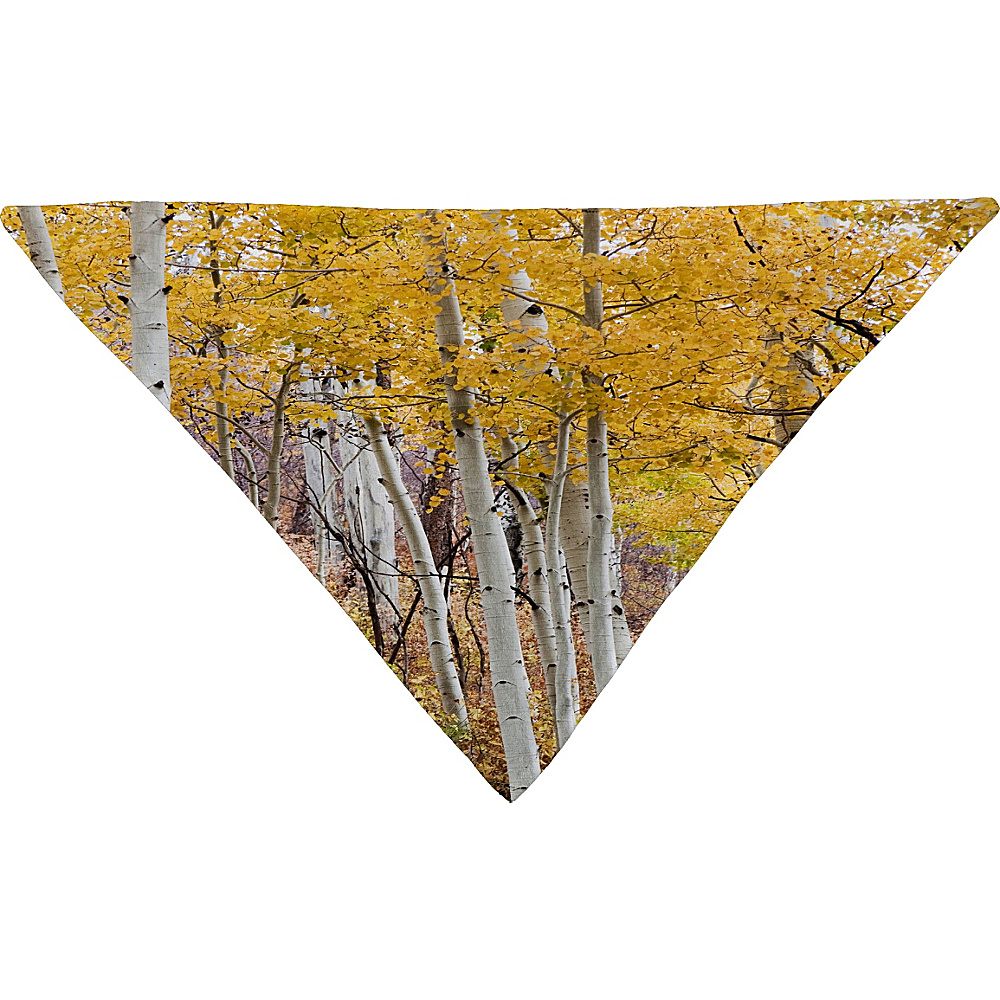 DENY Designs Barbara Sherman Pet Bandana Aspen Yellow Golden Aspens DENY Designs Pet Bags