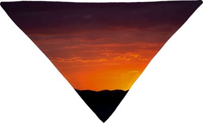 Deny Designs Barbara Sherman Pet Bandana Sunset Orange - Sunset Glory - Deny Designs Pet Bags