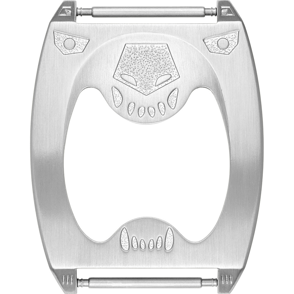 Fossil Stainless Steel Bottle Opener Buckle Silver - Fossil Watches - Fashion Accessories, Watches