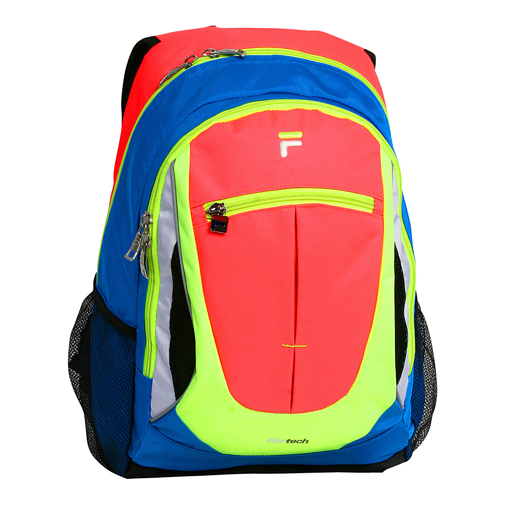 Fila Flash Tablet and Laptop Backpack Neon Fuchsia Fila Everyday Backpacks
