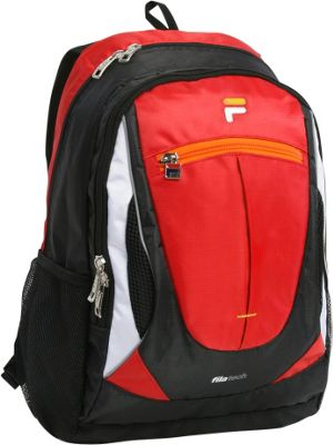 Fila Flash Tablet and Laptop Backpack Red - Fila Everyday Backpacks