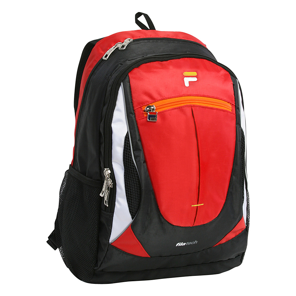 Fila Flash Tablet and Laptop Backpack Red Fila Everyday Backpacks