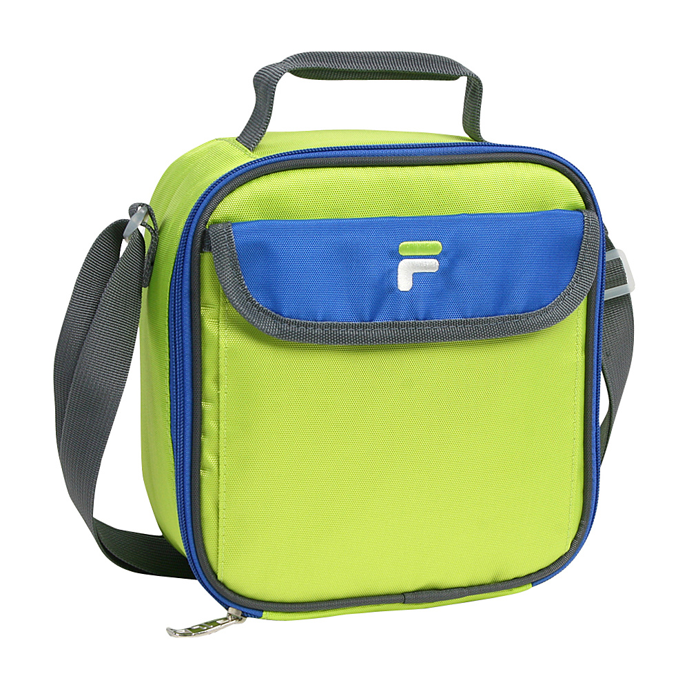 Fila Siesta Insulated Lunch Bag Lime Blue Fila Travel Coolers