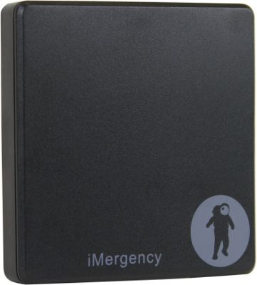 FRESHeTECH iMergency Stick On Rechargeable Cell Phone Battery Pack Black - FRESHeTECH Portable Batteries & Chargers