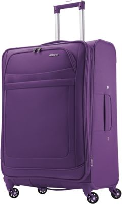 American Tourister iLite Max Spinner 25 Purple - American Tourister Softside Checked