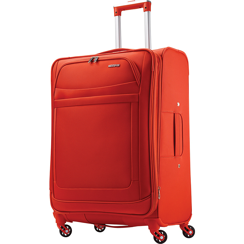 American Tourister iLite Max Spinner 25 Tangerine American Tourister Softside Checked