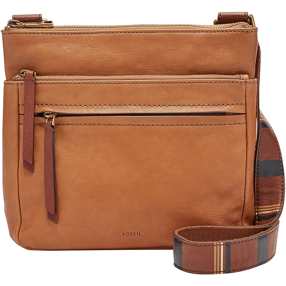 Fossil Corey Crossbody Camel - Fossil Leather Handbags - Handbags, Leather Handbags