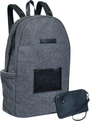 Sherpani Indie Wool Laptop Backpack Slate - Sherpani Business & Laptop Backpacks