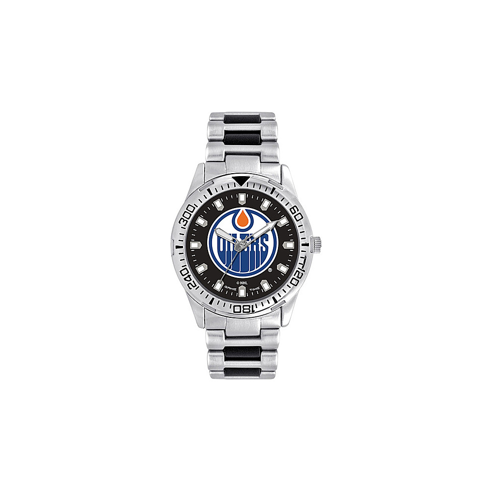 Game Time Mens Heavy Hitter- NHL Watch Edmonton Oilers - Game Time Watches - Fashion Accessories, Watches