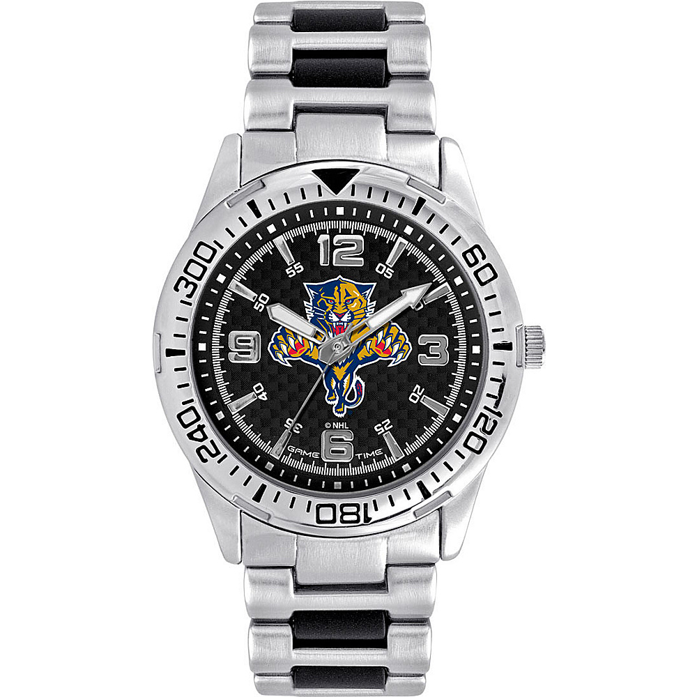 Game Time Mens Heavy Hitter- NHL Watch Florida Panthers - Game Time Watches - Fashion Accessories, Watches