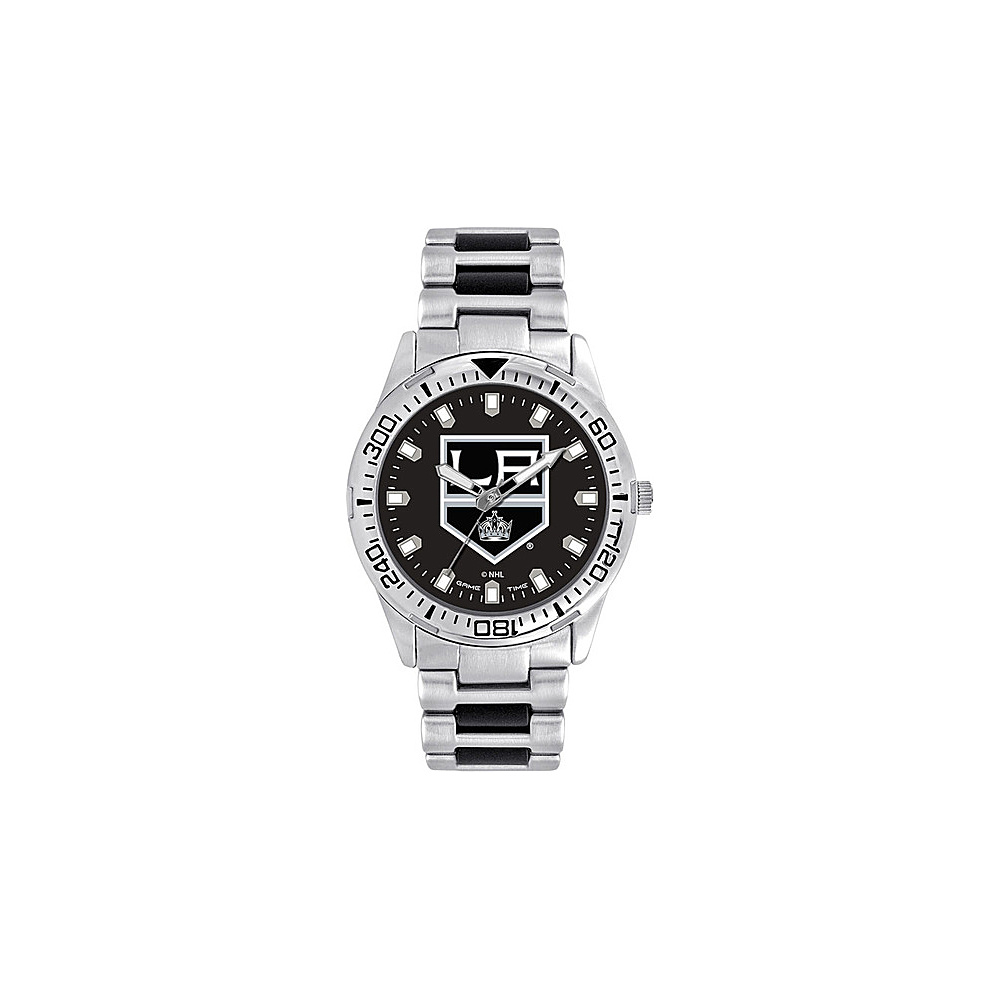 Game Time Mens Heavy Hitter- NHL Watch Los Angeles Kings - Game Time Watches - Fashion Accessories, Watches