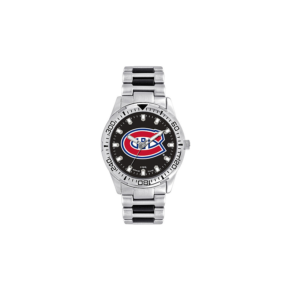 Game Time Mens Heavy Hitter- NHL Watch Montreal Canadiens - Game Time Watches - Fashion Accessories, Watches