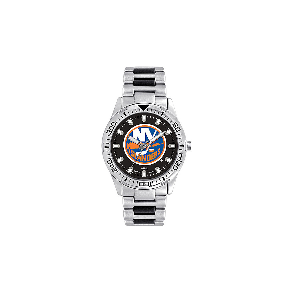 Game Time Mens Heavy Hitter- NHL Watch New York Islanders - Game Time Watches - Fashion Accessories, Watches