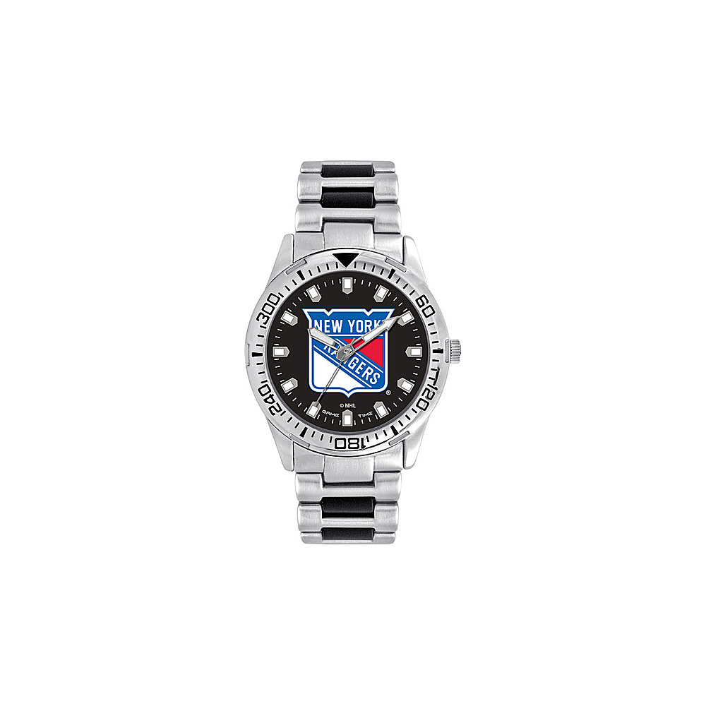 Game Time Mens Heavy Hitter- NHL Watch New York Rangers - Game Time Watches - Fashion Accessories, Watches